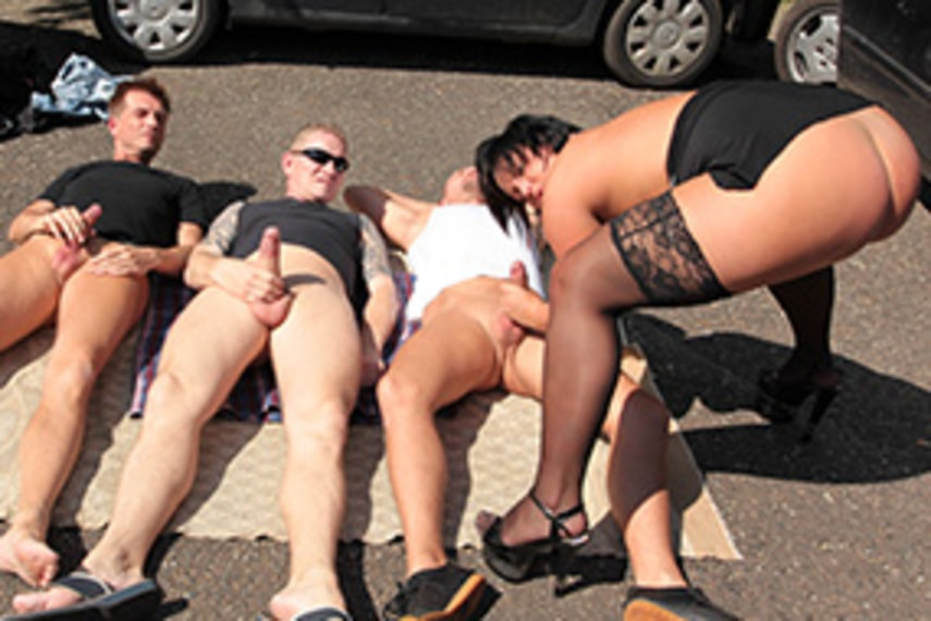 Russian Public Pick Up Anal